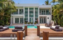 $13.5 Million Modern Waterfront Home In Miami Beach, FL
