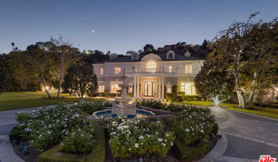 French Inspired Mansion In Beverly Park Re-Listed For $30 Million