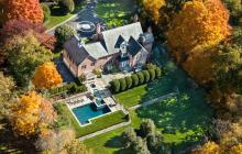 $4.395 Million Brick Georgian Mansion In New Canaan, CT