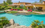 11,000 Square Foot Italian Inspired Mansion In Rancho Santa Fe, CA