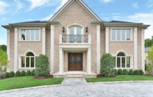 $3.95 Million Newly Built Brick Mansion In Englewood Cliffs, NJ