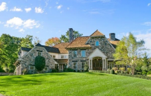 $4.299 Million Stone Home In Westport, CT