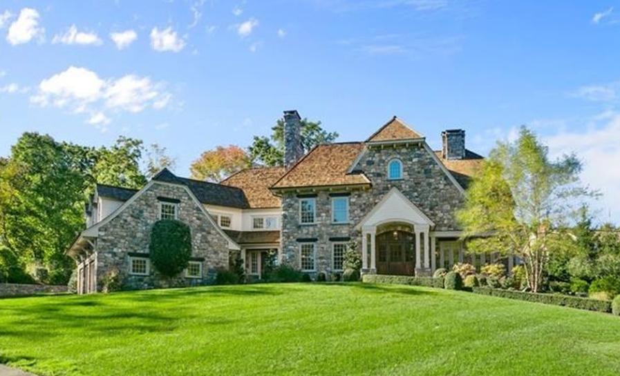 $4.299 Million Stone Home In Westport, CT