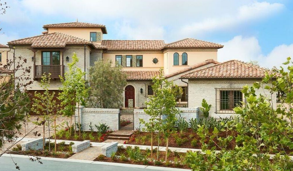 $3.9 Million Newly Built Spanish Style Home In Ladera Ranch, CA