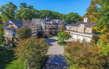 13,000 Square Foot Shingle Mansion In Dedham, MA