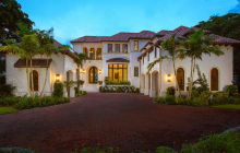$14.5 Million Newly Built Waterfront Mansion In Naples, FL
