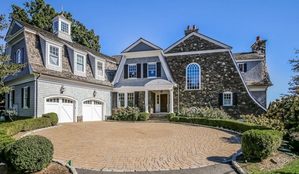 $6.9 Million Shingle & Stone Waterfront Mansion In Port Chester, NY