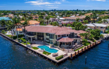 $5.995 Million Waterfront Mansion In Boca Raton, FL