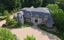 $3.5 Million Stone & Stucco Mansion In Mahwah, NJ
