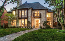 $3.795 Million Brick Home In Dallas, TX