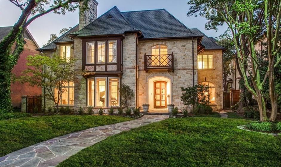 $3.795 Million Brick Home In Dallas, TX