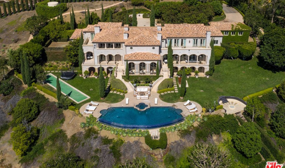 $32.995 Million Mediterranean Estate In Malibu, CA