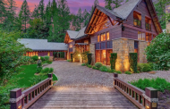 $9.9 Million Wood & Stone Home In North Bend, WA
