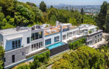 $10.495 Million Newly Built Modern Home In Los Angeles, CA
