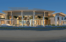 87,000 Square Foot Waterfront Mega Mansion Under Construction In Dubai