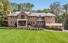 10,000 Square Foot Newly Built Brick Colonial Mansion In Oyster Bay, NY