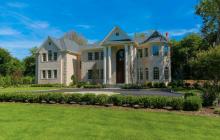 $3.8 Million Newly Built Brick Colonial Home In Glen Head, NY