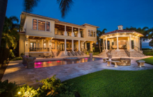 $7.5 Million Mediterranean Waterfront Home In Tampa, FL