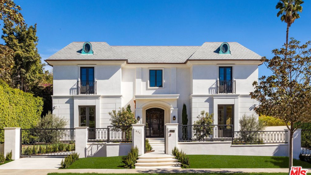 14 95 Million Newly Built French Provincial Mansion In Beverly Hills Ca Homes Of The Rich