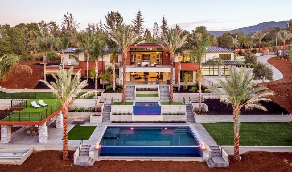 $11.8 Million Newly Built Contemporary Home In Los Altos Hills, CA | Homes  Of The Rich
