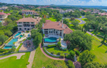 $4.695 Million Mediterranean Lakefront Mansion In Austin, TX