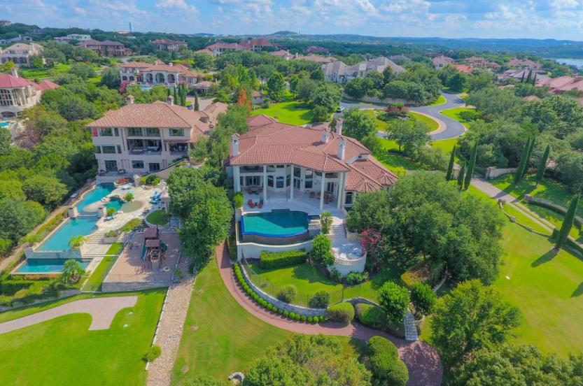 $4.695 Million Mediterranean Lakefront Mansion In Austin, TX