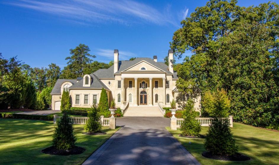 $4.995 Million Neoclassical Mansion In Atlanta, GA