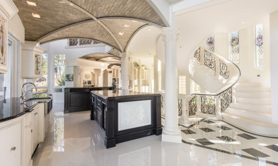 21 000 Square Foot Newly Built Limestone Mega Mansion In