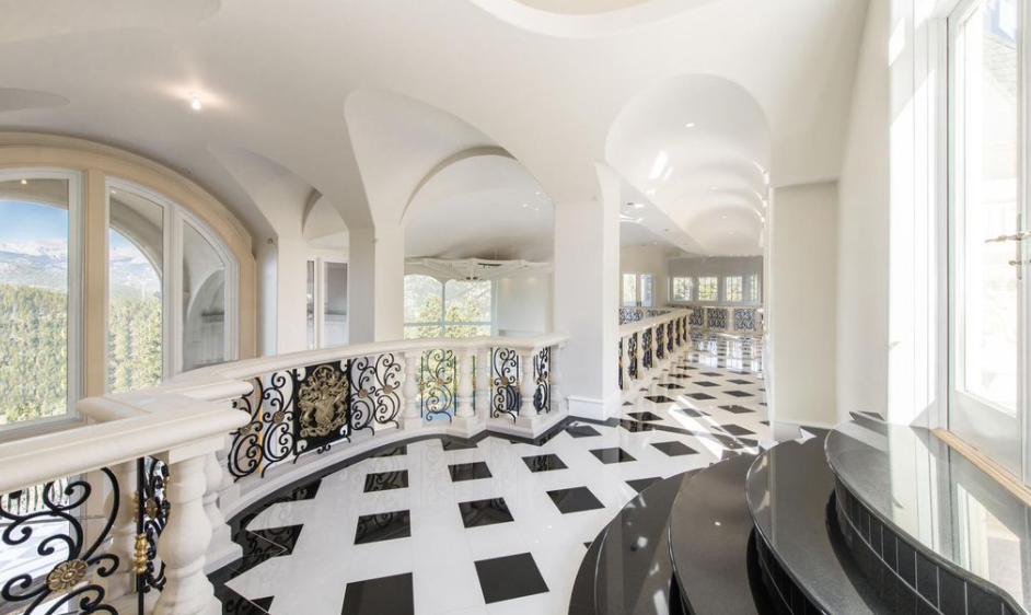 21 000 Square Foot Newly Built Limestone Mega Mansion In Evergreen Co