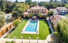 $3.995 Million Tuscan Home In Campbell, CA