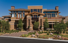 12,000 Square Foot Stone & Stucco Mansion In Las Vegas, NV