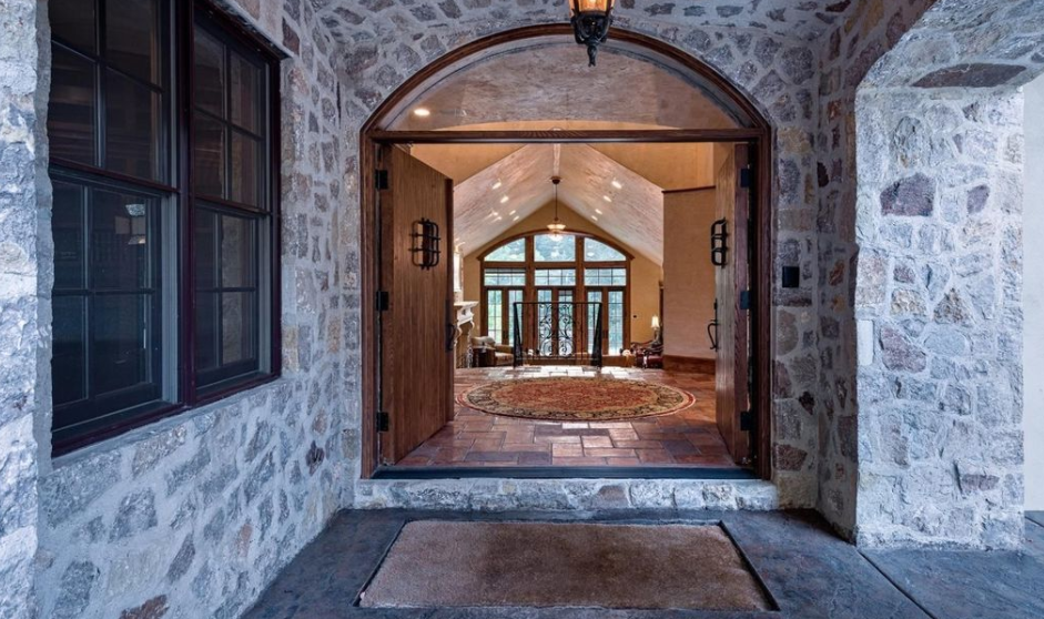 12 000 Square Foot Stone Stucco Mansion In Avon Co
