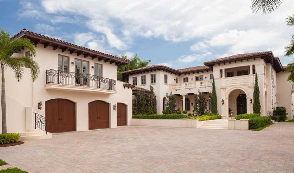 12,000 Square Foot Newly Built Mediterranean Waterfront Mansion In Miami Beach, FL
