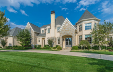 Brick & Stone Mansion In Prospect, KY