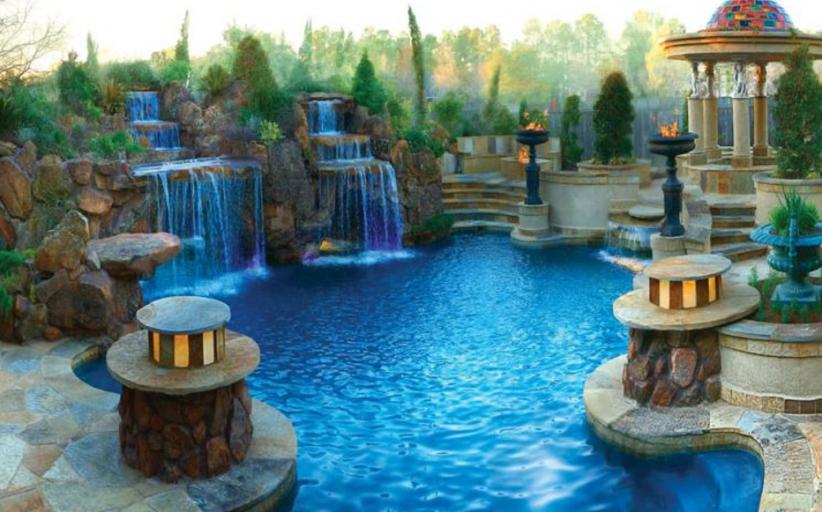 Amazing Pools By Stone Mason of Spring