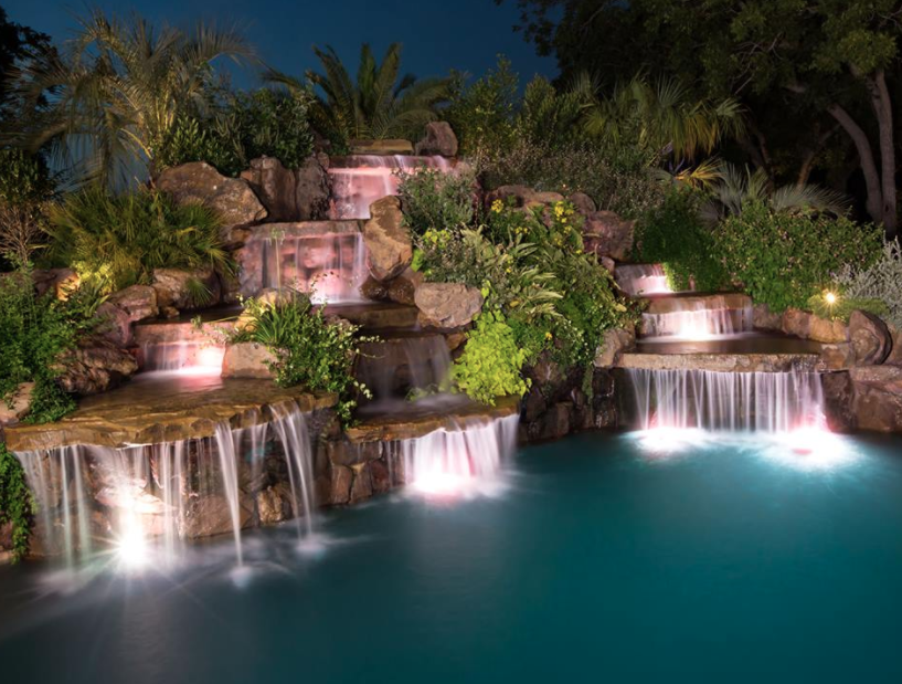Amazing Pools By Stone Mason Of Spring Homes Of The Rich
