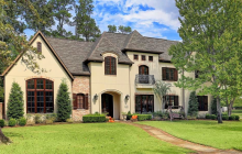 $2.95 Million Stucco Home In Houston, TX