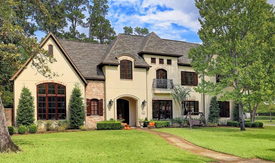 $2.95 Million Stucco Home In Houston, TX