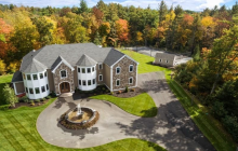 $2.5 Million Stone & Stucco Home In Middleton, MA