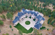 Aerial Pics Of Chateau V In Evergreen, CO