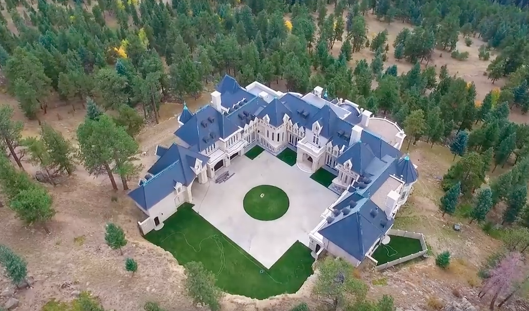 Aerial Pics Of Chateau V In Evergreen Co Homes Of The Rich