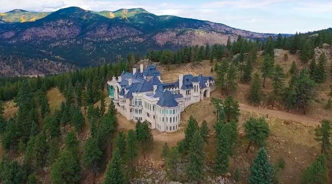 Aspen To Denver >> Aerial Pics Of Chateau V In Evergreen, CO | Homes of the Rich