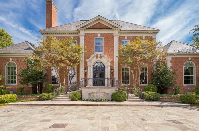 3 Million Brick Georgian Mansion In Memphis Tn Homes