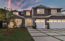 $6.195 Million Newly Built Cape Cod Style Home In Encino, CA