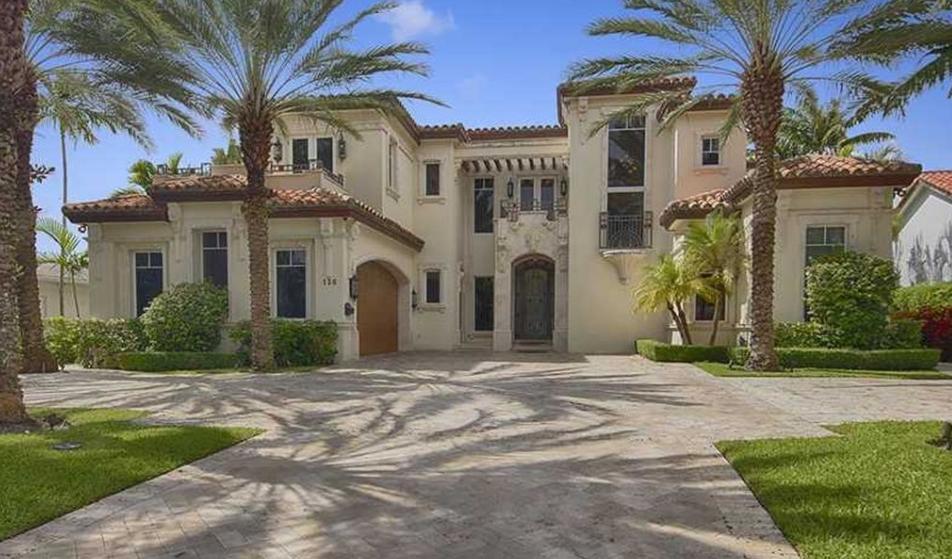 $5.5 Million Mediterranean Home In Bal Harbour, FL