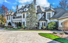 $4.5 Million French Inspired Stone Mansion In Asheville, NC