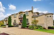 11,000 Square Foot Brick & Stone Mansion In Oak Brook, IL