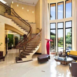 2-story Great Room & Staircase