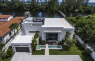 $4.695 Million Newly Built Modern Waterfront Home In Fort Lauderdale, FL