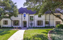 $2.595 Million Newly Built Brick Home In Dallas, TX